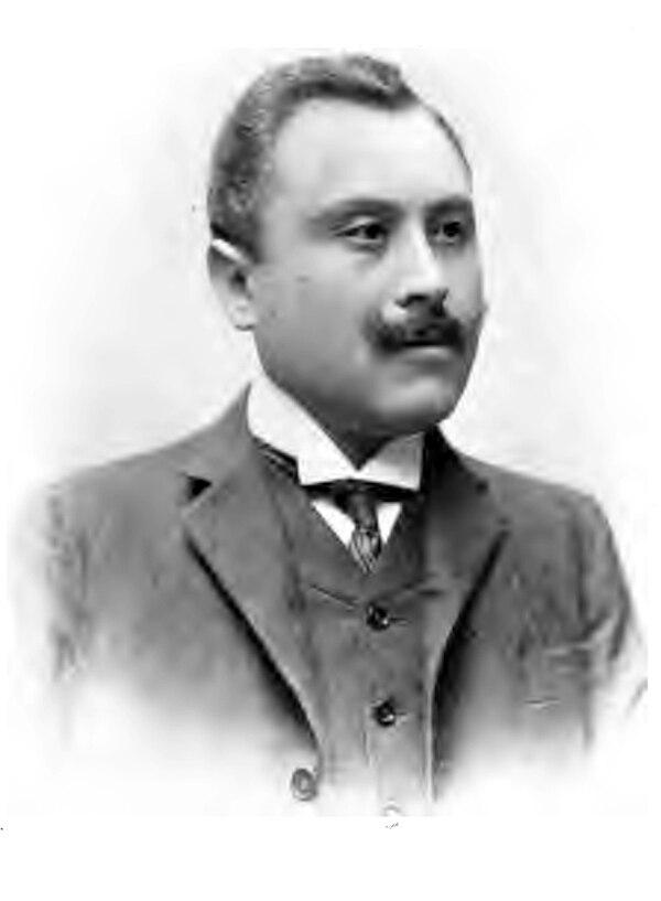 El historiador y literato Ricardo Fernández Guardia en 1908. ARCHIVO.