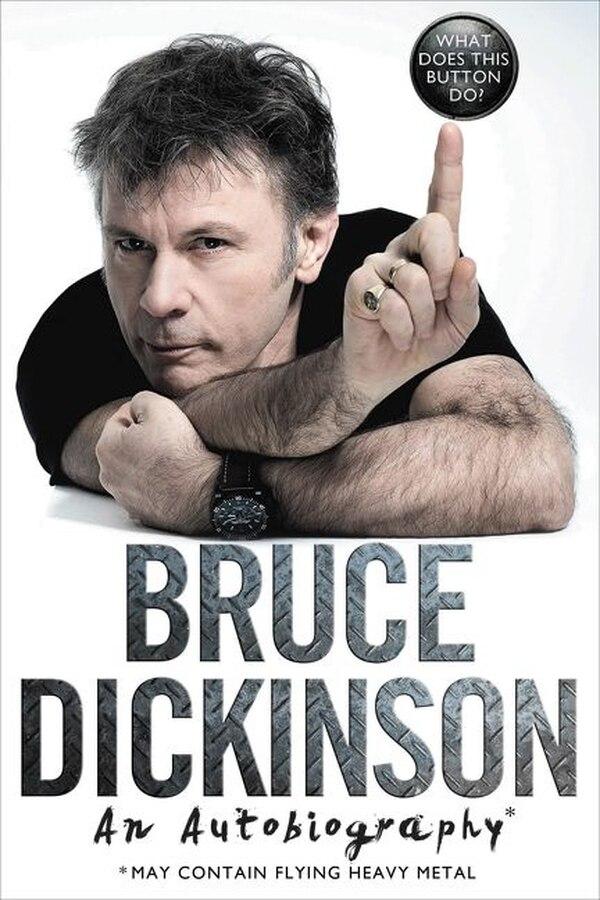 Bruce Dickinson publicó en el 2016 su autobiografía, en donde cuenta sobre su paso por Iron Maiden, como emprendedor y piloto.
