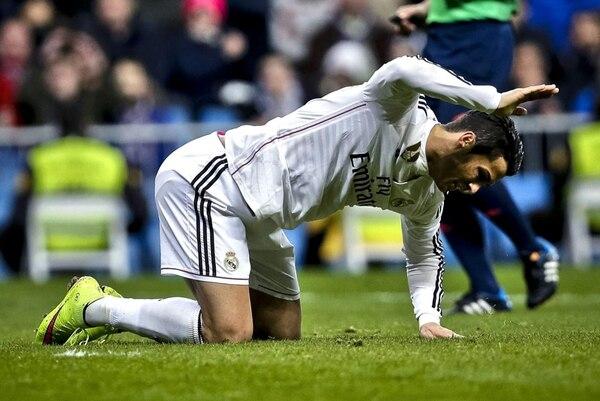 Cristiano mostró su frustración ante el Deportivo. En este partido no pudo marcar. | EFE