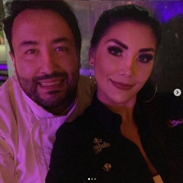 El empresario mexicano Jhona Monroy y Monserrat del Castillo se casarán el próximo 30 de noviembre. Foto IG