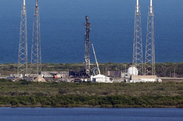 SpaceX perdió su cohete Falcon 9 el pasado 1 de setiembre. Un año antes había tenido un accidente similar. | AP
