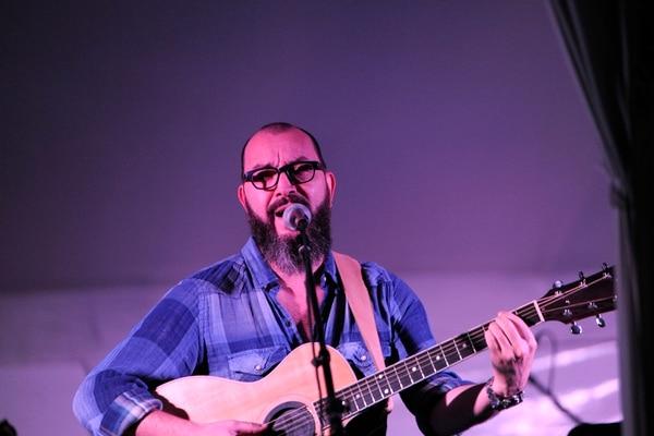 Bernardo Quesada en el concierto. Foto: Rafael Murillo.
