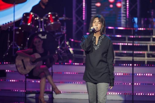 Durante la cuarta gala, Valeria se transformó en Juanes. Foto: Jeffrey Zamora