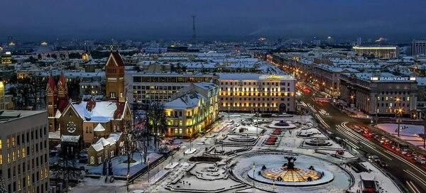 Ciudad de Minsk. Fotografía: Carlos Alvarado Sandoval