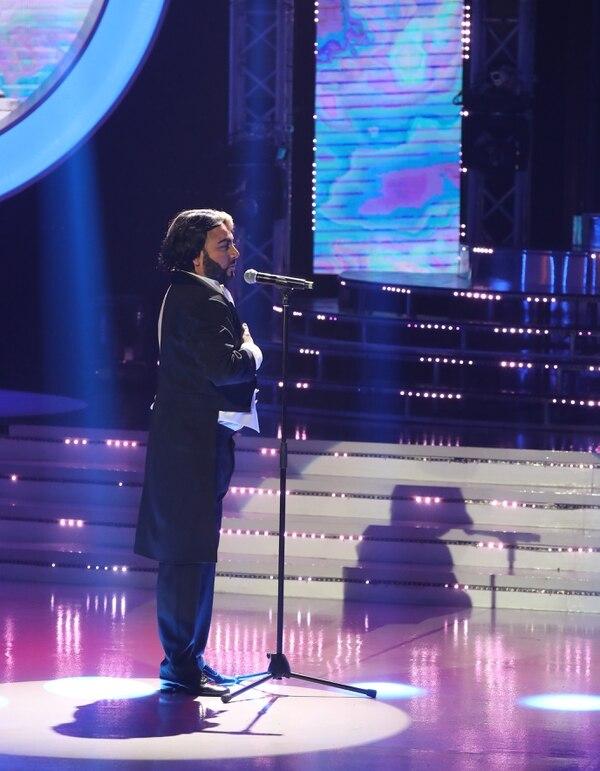 Luisga debía interpretar a Luciano Pavarotti y a Bryan Adams al mismo tiempo