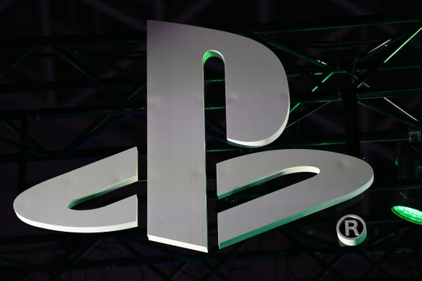 (FILES) In this file photo The Sony Playstation logo is seen during the Tokyo Game Show in Makuhari, Chiba Prefecture on September 12, 2019. - Sony on June 1 postponed a streamed event at which it was to showcase games tailored for new-generation PlayStation 5 consoles, stepping back amid growing unrest in US cities. (Photo by CHARLY TRIBALLEAU / AFP)