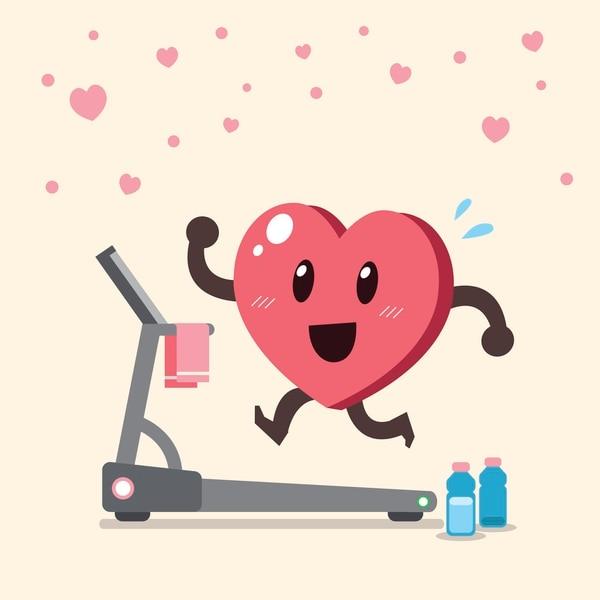 La actividad física reduce el riesgo de padecer insuficiencia cardíaca. Ilustración: Johns Hopkins para LN