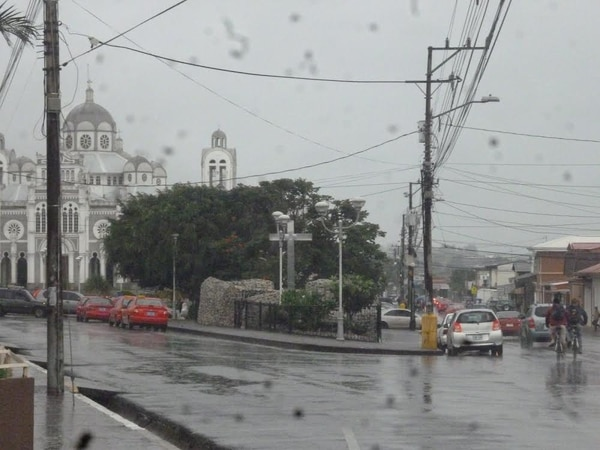 A las 5 p. m. de este lunes hubo lluvias en Cartago y otras de mayor intensidad en la Zona Sur.