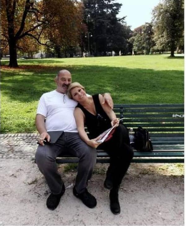 El doctor Martín Nassar y Cristiana cumplieron 34 años de casados en diciembre. Foto: Archivo.