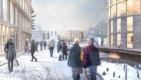 La ciudad no tendrá autos ni rascacielos y contará con sistema de reciclaje. Foto: Oceanix.