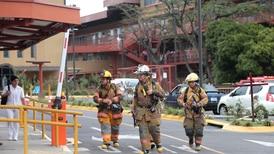 Motor de ascensor recalentado causó humo en hospital Raúl Blanco Cervantes