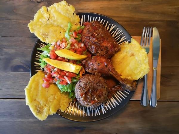 Cuando los dioses tienen hambre y están en el Caribe, comen este rice&beans. Foto: Osvaldo Calderón