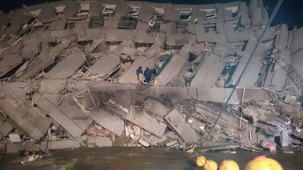 Taiwán está cerca del punto de contacto de dos placas tectónicas y a menudo es afectada por terremotos.