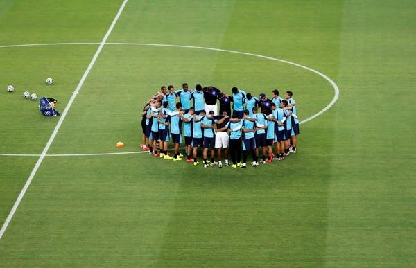 La Selección Nacional reconoció este viernes el estadio Castelao.