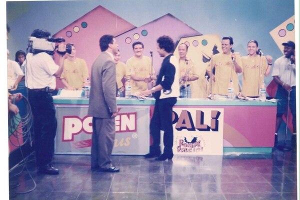 Martin Scott fue parte durante varios años del famoso programa 'TV Mejenga'. Era el encargado de toda la parte musical del espacio. Foto: Cortesía Martin Scott.