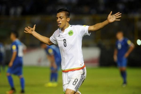 El delantero Ángel Sepúlveda anotó un gol el viernes en el triunfo de 3-1 ante El Salvador.