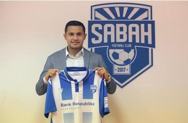 Róger Rojas fue presentado el martes como la nueva adquisición del Sabah de Azerbaiyán. Fotografía: Instagram Róger Rojas