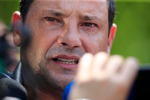 Jeaustin Campos estuvo dirigiendo en el país al plantel de Jicaral previo a irse al Nacional Potosí de Bolivia. Fotografía: Rafael Pacheco