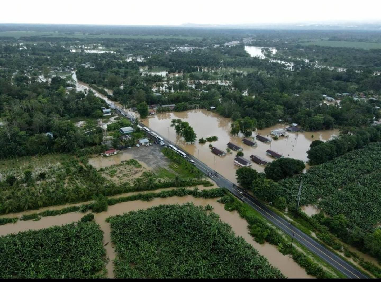 Inundaciones en Talamanca. Limón. Foto Municipalidad de Talamanca.