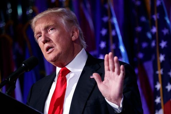 Trump dijo que el APP es un potencial desastre para el país. | AP