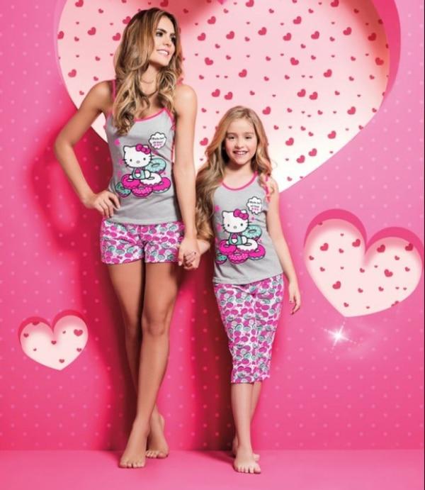 La colección de pijamas Hello Kitty está incluida en el catálogo Tu éxito, edición 2-2017.