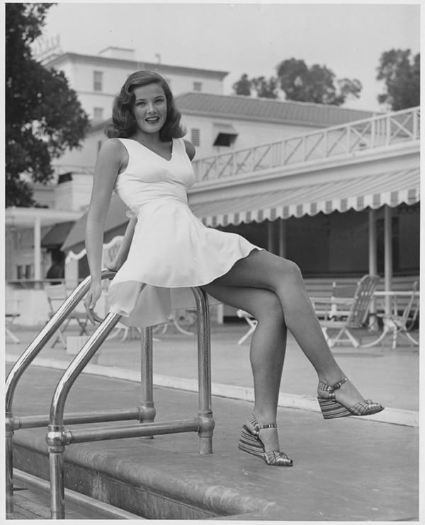 Gene Tierney siempre resultó atractiva ante los hombres. Entre sus romances más sonados estuvo su noviazgo con John F. Kennedy. Corbis para Teleguía