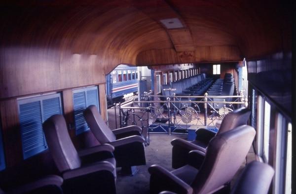 El vagón Presidencial del Ferrocarril fue donado al Parque de Diversiones.
