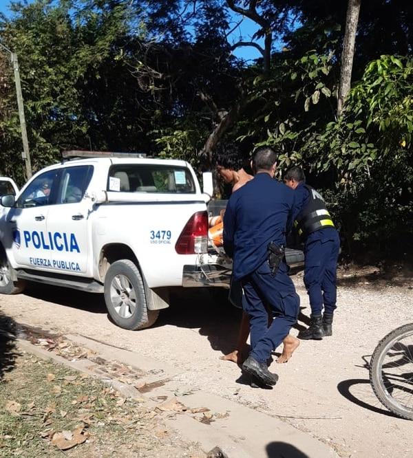 Meses atrás Canales había sido detenido por violencia intrafamiliar y este miércoles volvió a agredir a su excompañera. Foto: Cortesía.