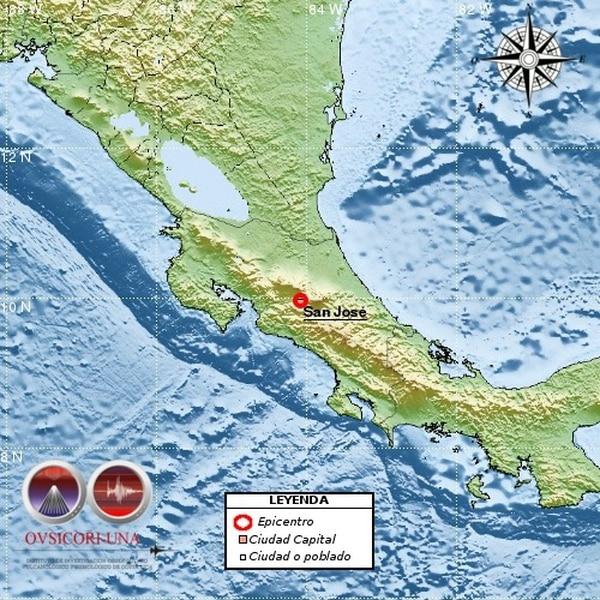 El temblor tuvo una profundidad de 6 kilómetros.