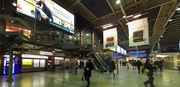 La estación central de trenes de Múnich es la más importante de esta ciudad de Alemania.