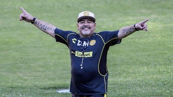 Diego Maradona cumplió 59 años el 30 de octubre. Foto: Archivo.