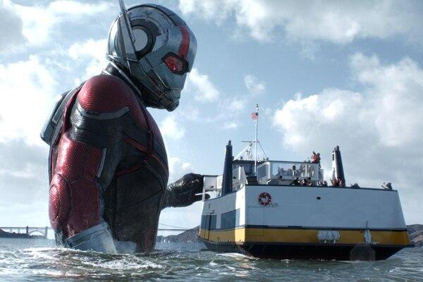 Escena de 'Ant-Man and the Wasp', cinta protagonizada por Paul Rudd. Foto: Marvel Studios