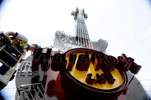 La reconocida guitarra que distingue a la cadena de restaurantes ya no está en Guanacaste, pero se mantendrá en La Asunción de Belén, Heredia. Foto: Alonso Tenorio