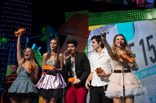 La edición 2012 de los Kids' Choice Awards México registró más de 34 millones de votos de los fans