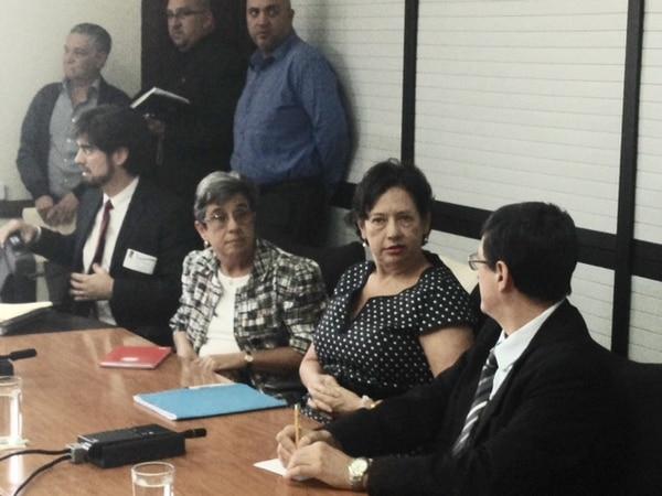 Exministra de Cultura Elizabeth Fonseca acude a comparecencia ante la Comisión Permanente de Ingreso y Gasto Público.