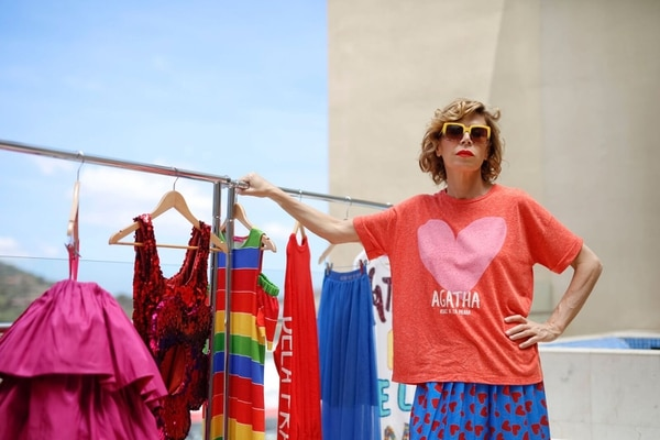 Ágatha Ruiz de la Prada es el plato fuerte del Mercedes-Benz Fashion Week San José. Fotografía: Juan Calivá para LN.
