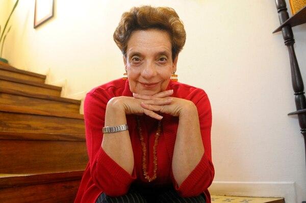 Galardón. Julieta Dobles, poetisa, fue la ganadora del Magón.Albert Marín.
