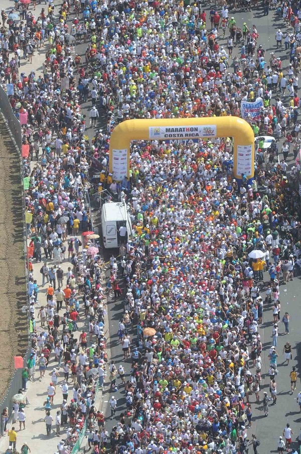 La Maratón Costa Rica tendrá cupo para cerca de 3500 atletas.