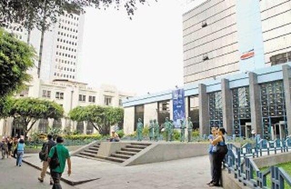 El Banco Central presta servicios a las superintendencias. | ARCHIVO.