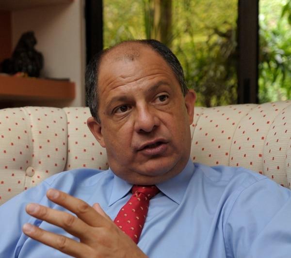 El candidato presidencial del PAC, Luis Guillermo Solís, afirmó que mediciones hechas por su partido le atribuyen un crecimiento mayor a su candidatura, de la que muestra la encuesta de Unimer publicada este jueves por La Nación.