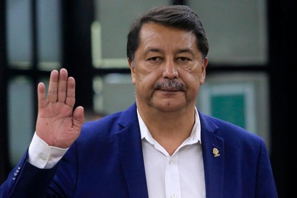 Víctor Morales Zapata, exdiputado cercano a Luis Guillermo Solís. Foto: Rafael Pacheco