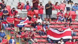 Futbolistas de Costa Rica le dan mérito a la afición en el triunfo ante El Salvador