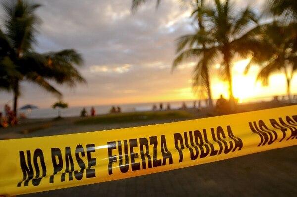 El cantón puntarenense de Garabito registra la tasa más alta de delitos cometidos en el país entre enero del 2010 y junio de este año.