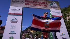 Tico Neruda Céspedes ganó su segunda etapa en ultramaratón en Portugal