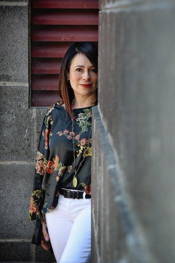 Karina Salguero se ha destacado como comunicadora y gestora cultural durante toda su carrera. Fotografía: John Durán
