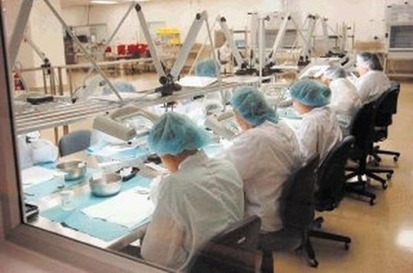 Industria médica Jude Medical en la Zona Franca El Coyol. Esta industria es una de las que está realizando los mayores aumentos salariales. Archivo