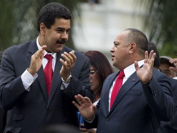 La conspiración, según el audio divulgado , sería liderada por Disodado Cabello. | AFP