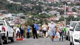 Informe de CNE urge evacuar al menos 18 casas por deslizamiento en Valladolid de Desamparados