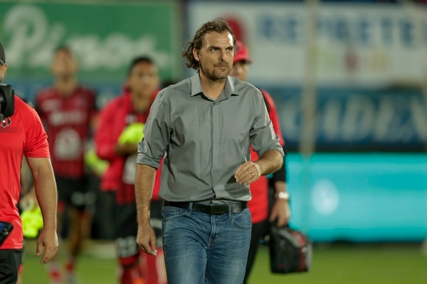Andrés Carevic, técnico de Alajuelense. Fotografía José Cordero