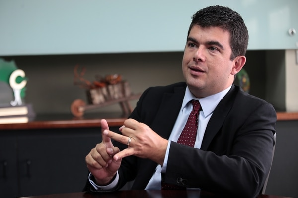 Álvaro Ramos, jerarca de la Superintendencia de Pensiones, ve necesaria una reforma al régimen de jubilaciones costarricense. Foto: Graciela Solis.